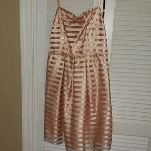 The Limited Size 8 Peach Dress